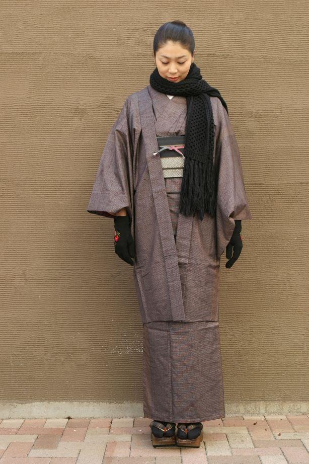 Kimono with haori