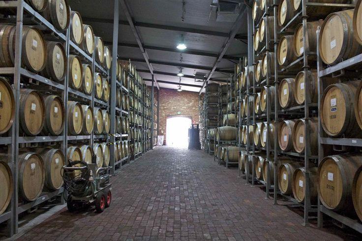 Wirra Wirra's barrel room. #wine