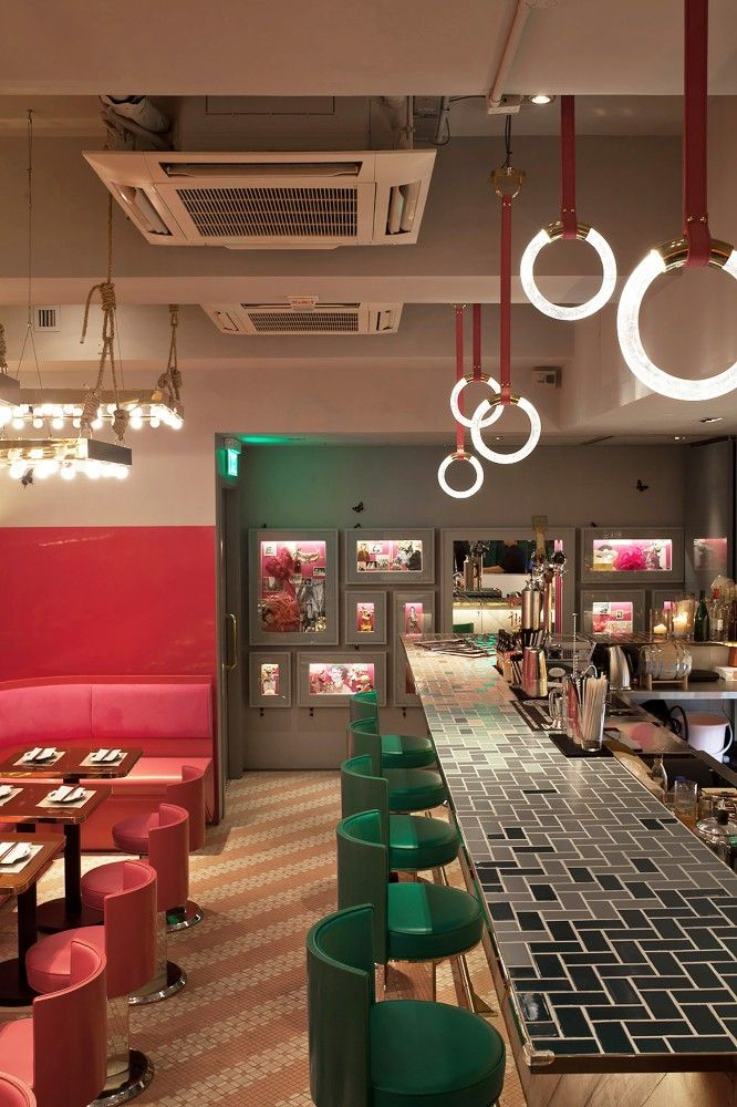 Mrs. Pound Restaurant, Hong Kong by NC Design & Architecture