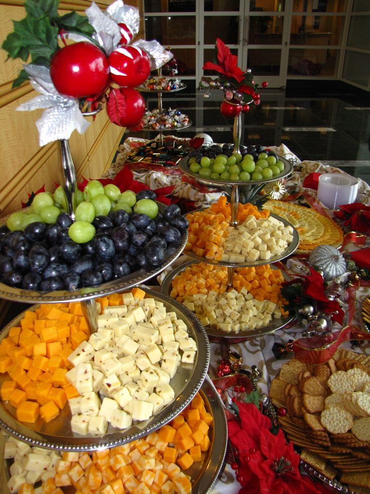 Best Food And Buffet Displays Images On Pinterest Snacks