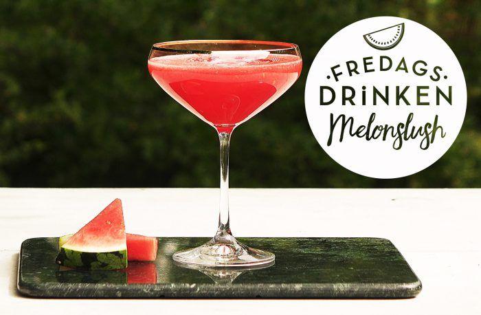 Sommarens fräschaste drink gör du med vattenmelon och gin. Lime ger god syra till den här supersnygga cocktailen!