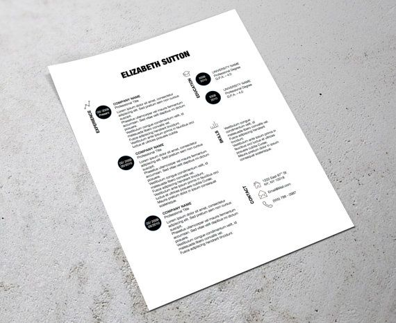 templates of resume
