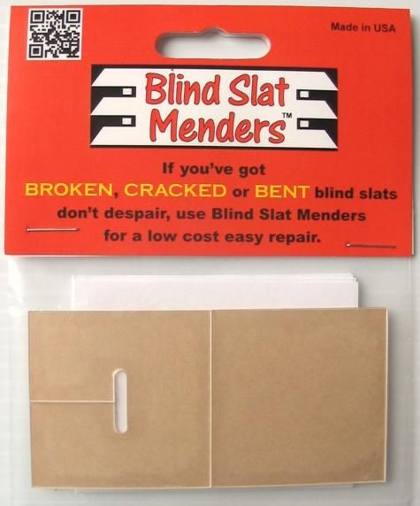 Blind Slat MendersProducts Safety, Patent Pending, Wood Blinds, Time Consumer, Doesn' T Work, Broken Piece, Consumer Products, Slat Mender, Blinds Slat