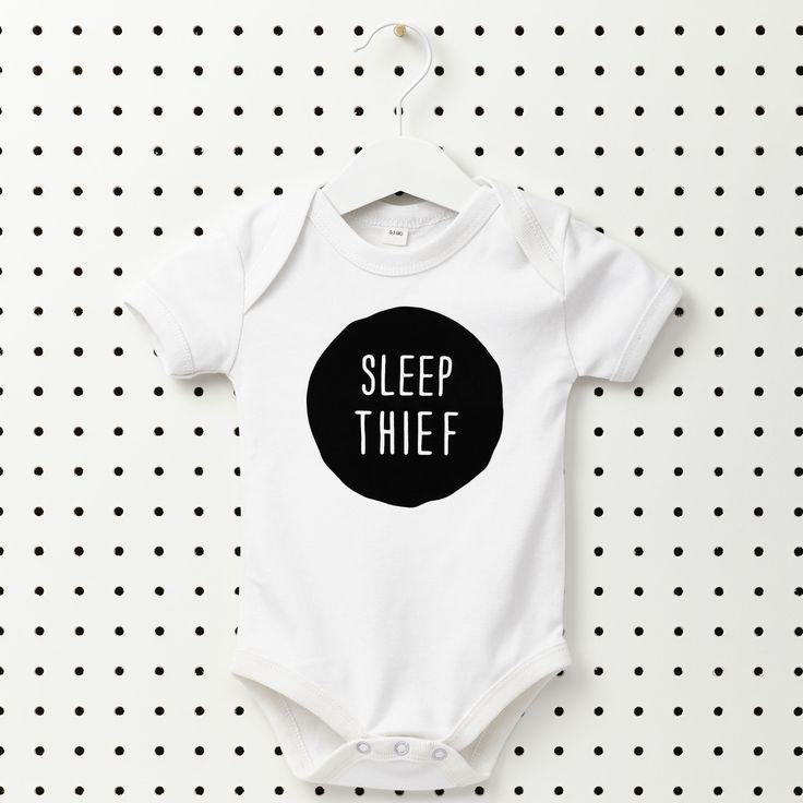 Sleep thief baby onesie | hardtofind.