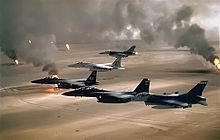 F16, F15.   Operation Desert Storm