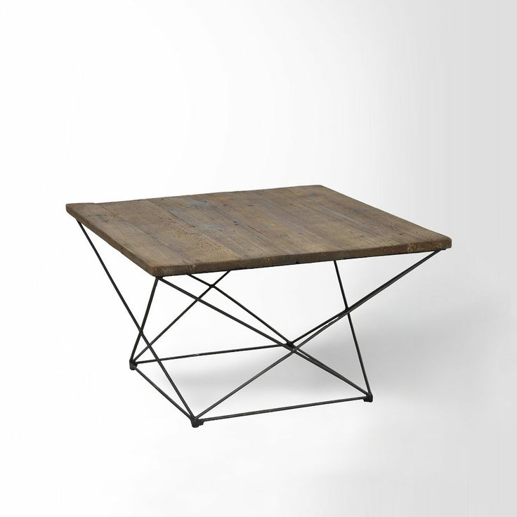 Angled Base Coffee Table  | table . Tisch | Design: west elm |
