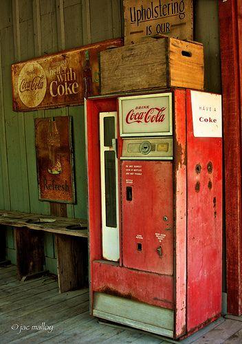 Coca Cola Nostalgia, Texas by Jac Malloy