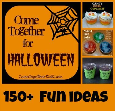 150+ Halloween ideas for kids ~ recipes, crafts, decorations, projects and more!: Kids Recipe, Halloween Idea, Halloween Recipe, Halloween Fun, Crafts Projects, Crafts Idea, Fun Projects, Halloween Party, Crafts Decoration
