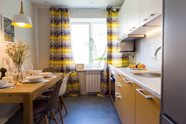 Amenajare simpla, dar placuta in acest apartament- Inspiratie in amenajarea casei - www.povesteacasei.ro