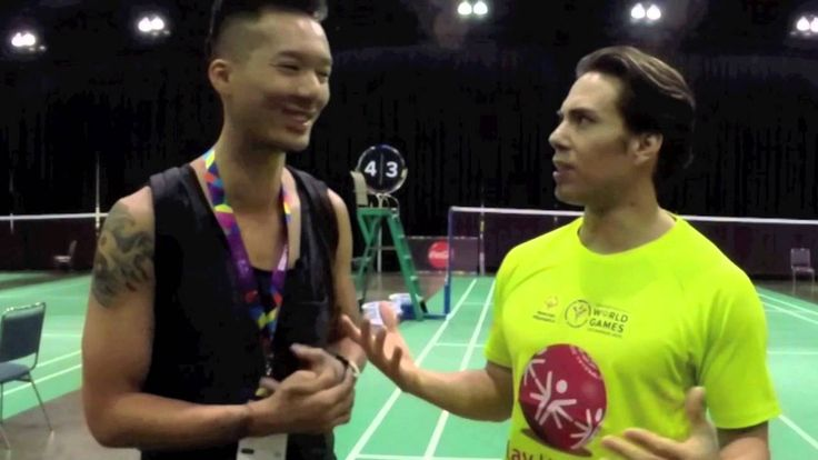 Apolo Ohno talks badminton https://www.youtube.com/watch?v=VMkxJmV5HUE