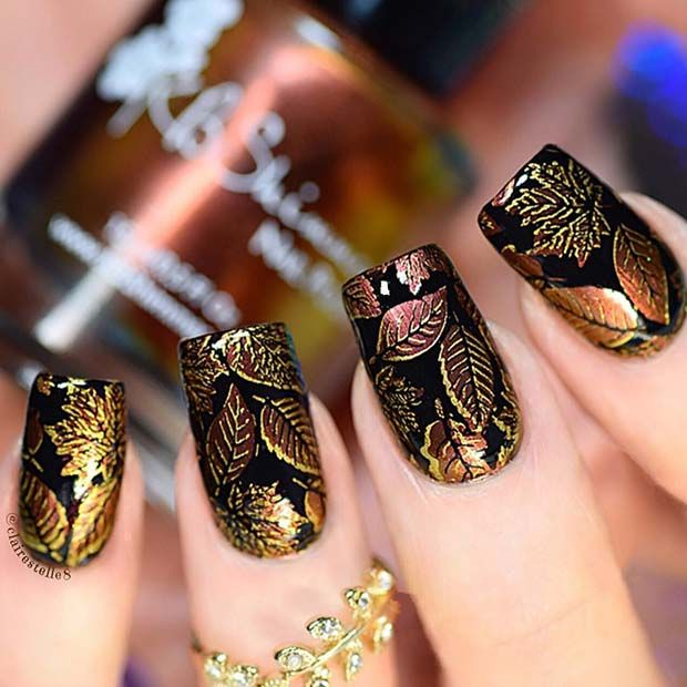 21 Trendy Fall Nail Design-Ideen – nail art
