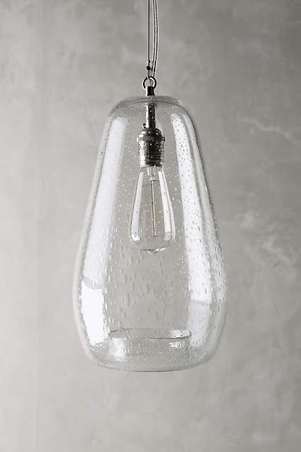 Glass Carafe Pendant Lamp - anthropologie.com