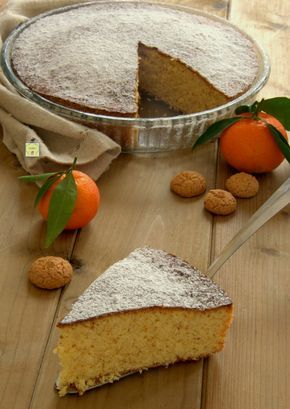 torta clementine e amaretti gp