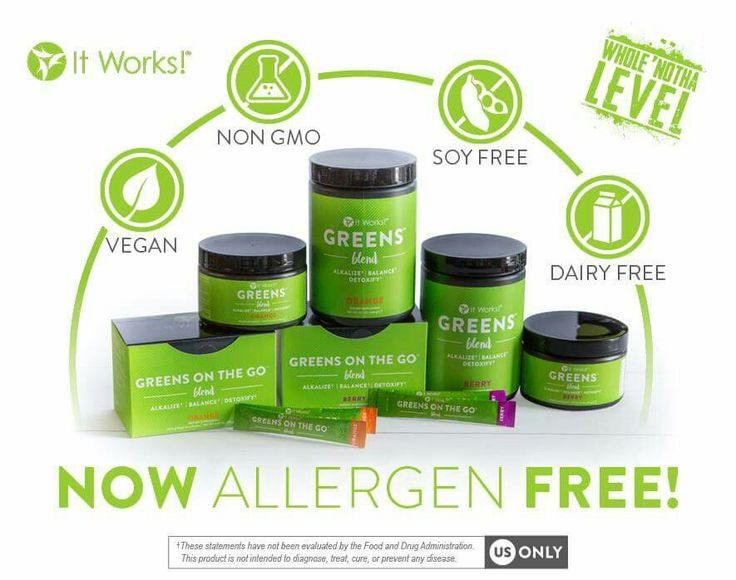It Works greens are now even better! Allergen free, dairy free, non-gmo, soy free, and vegan. Plus 2.5x the fruits and veggies and 4x the fiber. Also with matcha green tea! These are so good for you! Get yours today. Text 812-571-0414 or comment below. Mrspruitt.itworks.com