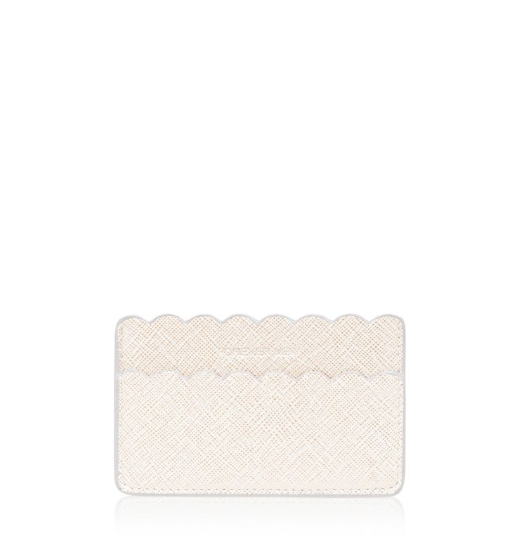Bambi Card Holder White/ Gold - Womens Fashion | Forever New