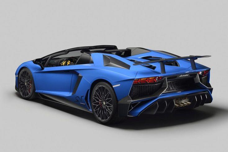 2016 Lamborghini Aventador LP 750-4 Superveloce Roadster unveiled
