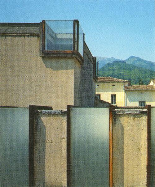Carlo Scarpa - Gipsoteca Canoviana, Possagno, 1957