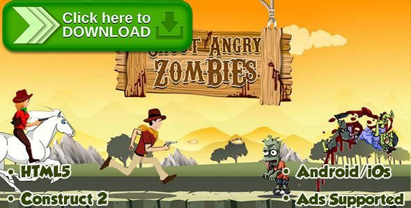 [ThemeForest]Free nulled download Shoot Angry Zombies - HTML5 Android (CAPX) from http://zippyfile.download/f.php?id=53384 Tags: ecommerce, android game, android shooting game, Construct 2 game, html 5 zombie, iOS GAME, landscape shooting, shoot zombies, shooter game, shooter html 5 game, shooting game, zombie games, zombie killing, zombie shooter