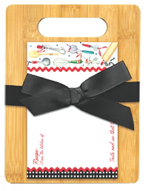 Cutting Board Gift Set Cook With Love