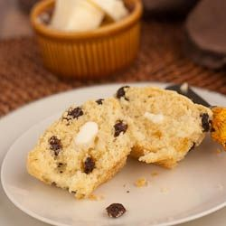 Irish Soda Bread Muffins by laurassweetspot