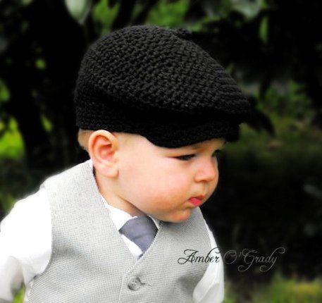 Free Crochet Newsboy Hat Pattern Child