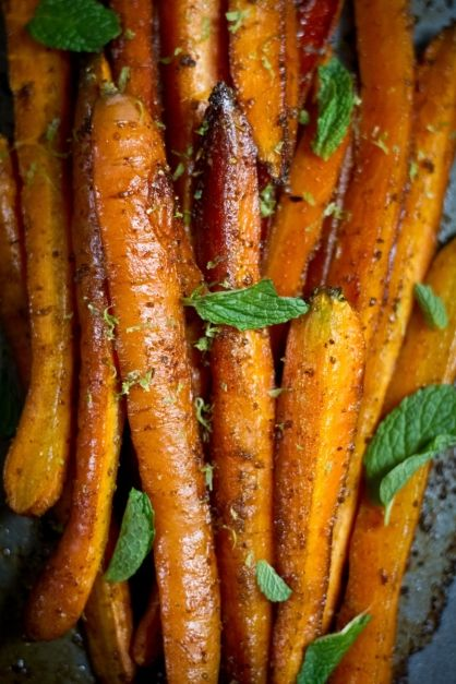 Cumin Roasted Carrots   Clean Eating Recipes