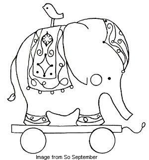 Circo elefante.