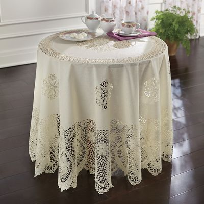 Vintage Chic Tablecloth 13 00 16 00 Linens