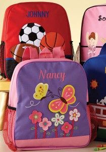 Personalized Kids Backpacks $18