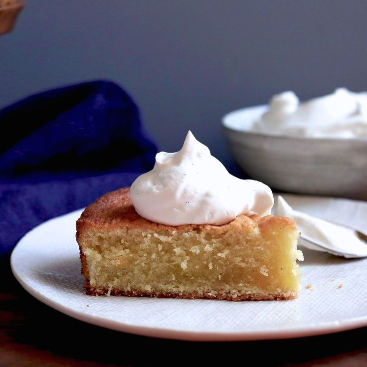 Double Vanilla Butter Cake with Chantilly Cream recipe on Food52