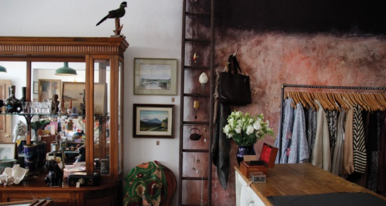 Eclectic mix of old and new at Ginger Morris in South Fremantle, WA