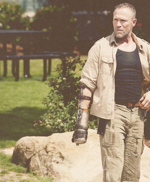 Merle Dixon: How come we never hooked up? Andrea: You called me a whore and a rugmuncher. Merle Dixon: Got a way with words, don't I?
