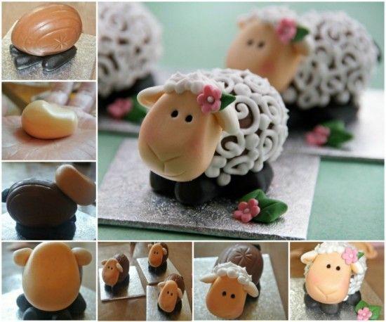 Easter Lambs Creme Egg