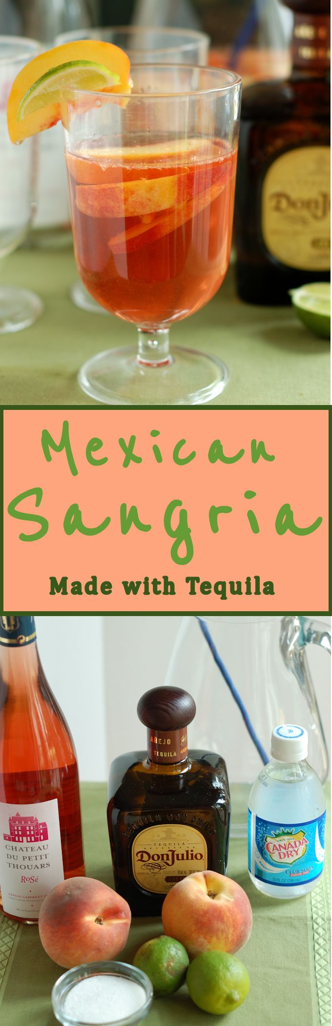 Love Sangria? Try this Mexican Sangria made with tequila for a new take on the…