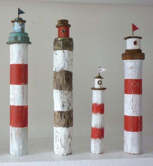 -tiny lighthouses