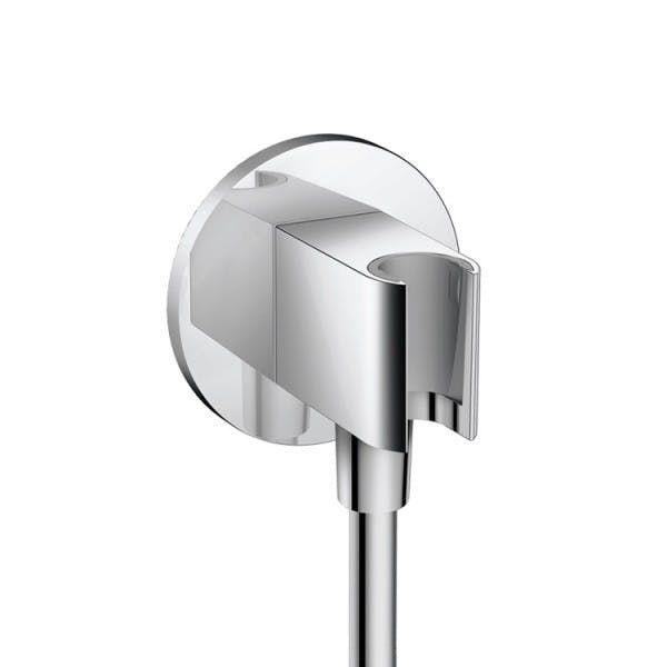 Hansgrohe Fixfit Porter S Support & Outlet (26487000)   Hansgrohe Shower Head Holder   Hansgrohe Showers   Hansgrohe   Brands   SuperBath