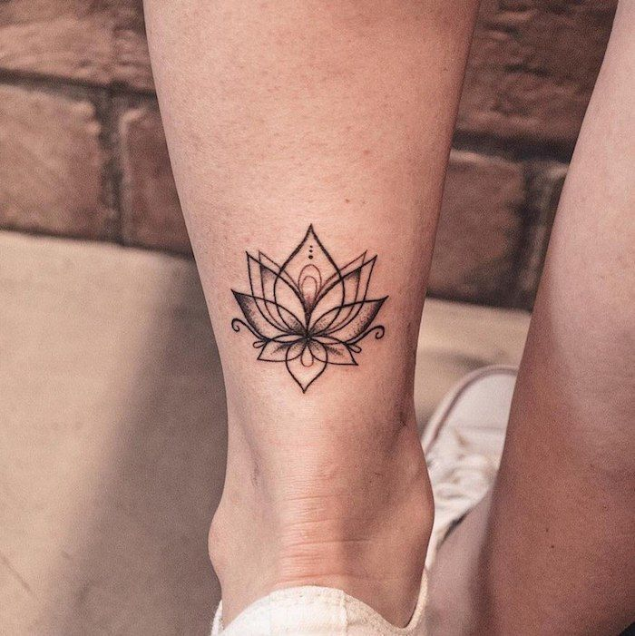 ▷ 1001 + Ideas for tattoo on the foot, ankle or calf