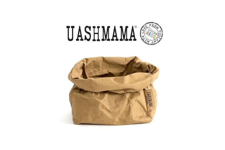 The original Uashmama brown paper bread-bag