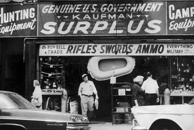 The Weekly Rundown: A Brief History of Army Surplus Stores - http://hddls.co/2e68Qvl