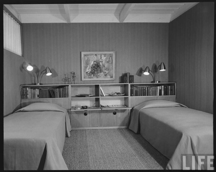 California $ 10000 Современный дом 1950-х годов комнатная