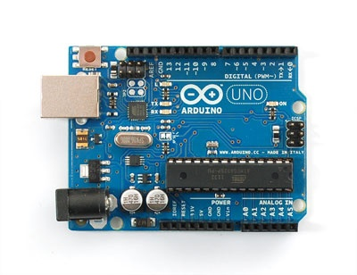 Arduino: simple easy to use micro controller.