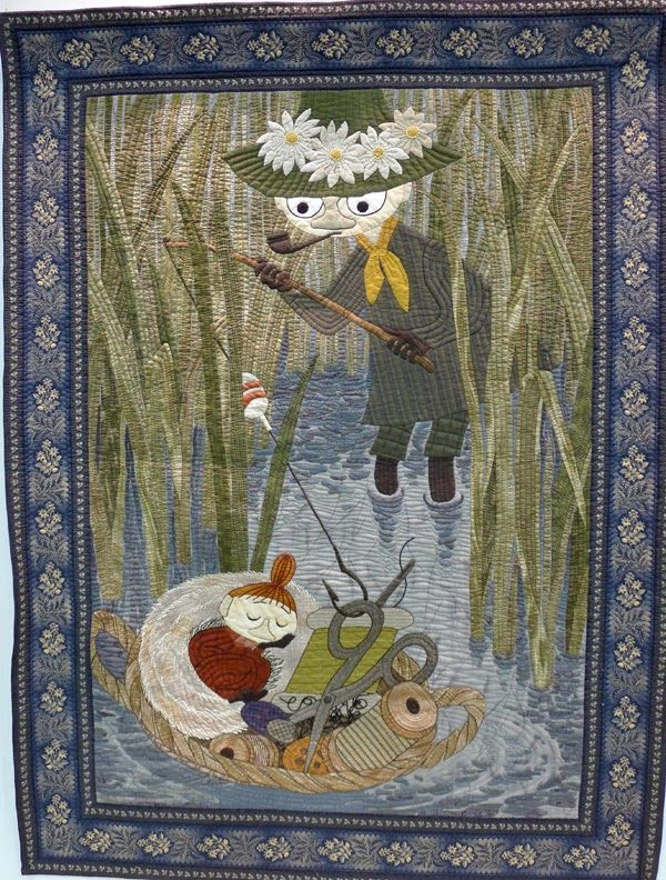Stitchbird: More Quilts from the Tokyo Quilt Show - Moomin Rules OK!