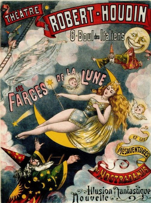 Houdin.... Inspired many magicians, including Houdini!