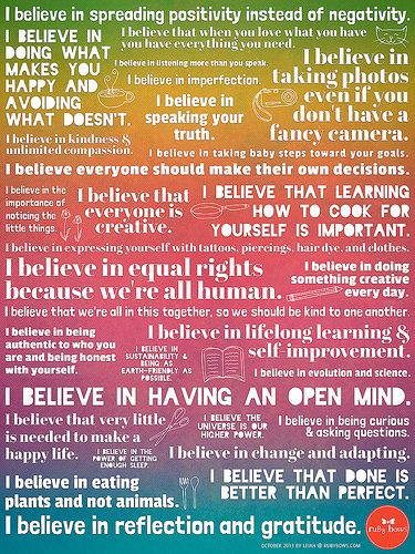 How to Create Your Personal Manifesto