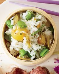 Jasmine Rice with Tomatoes and Cornichons Recipe from Food & Wine