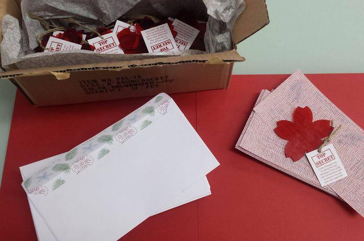 Decoded Surprise Birthday Invites designed by Imagine If Creative Studios