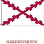 High Wind, US Made Spanish Cross Flag 4x6