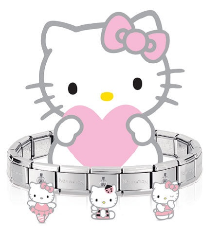 Hello Kitty Nomination Charms for Nomination Bracelets