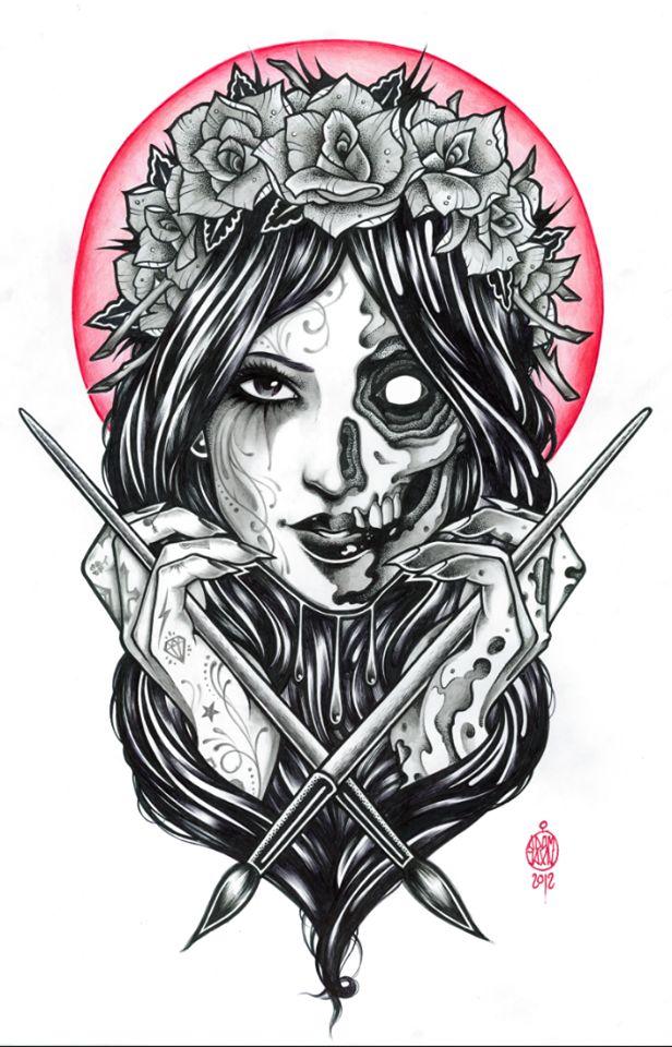 tatouage illustration - Recherche Google