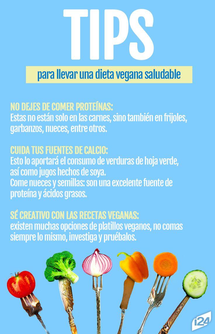 No es dejar de comer, es comer saludable y con todos los nutrientes, la dieta vegana es una excelente opción #Dieta #Diets #Vegana #Tips #Food #Light #Saludable